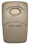 Multi-Code One Button Garage Door Opener and Gate Operator Remote Control 3089