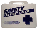 Garage Door Openers, Weatherproof Plastic First Aid Kit.